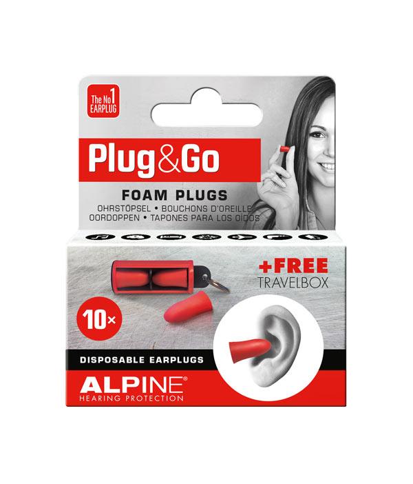 572194a48a0 Alpine Plug&Go billige skum ørepropper – bestil her – hurtig levering