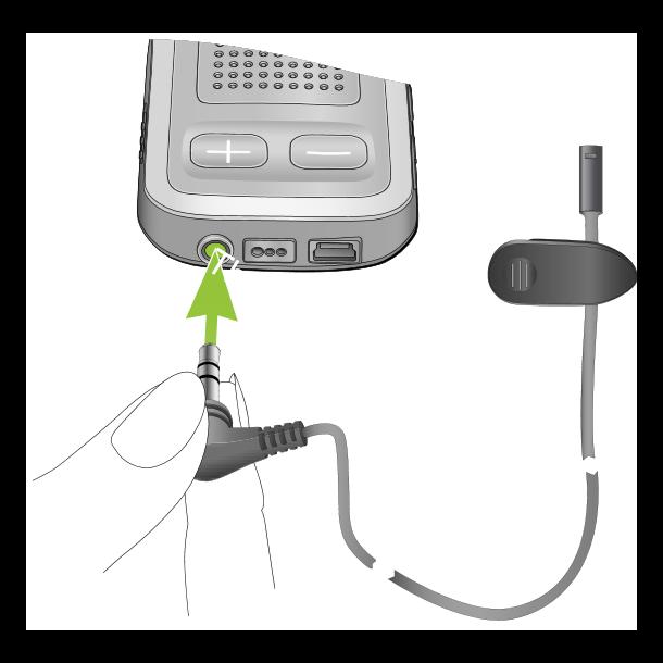 Ekstern mikrofon til ComPilot (trådført)